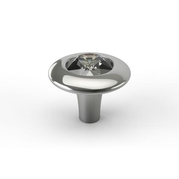K227 Punto Kristal Düğme